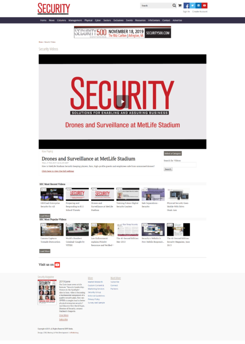 Security-Magazine-Videos